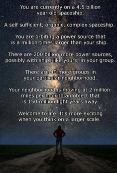 Some mind bogglingly awesome science facts, page 1 for the most part it's accurate.
