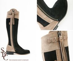 9767bd14a10 Gorgeous 2 tone Suede Boots Suede Boots