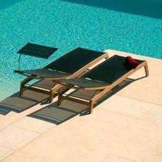 Barlow Tyrie Horizon Sling Chaise Lounge
