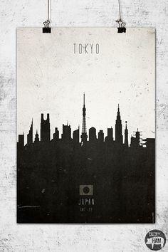 $28.99 Tokyo Skyline Print