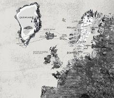 Hannah Warren's Nordic Map Is As Striking As It Is Beautiful