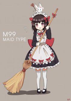 Lolis Anime, Anime Maid, Anime Girl Cute, Kawaii Anime Girl, Cute Characters, Anime Characters, Poses, Character Art, Character Design