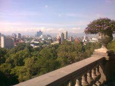 Desde el castillo se tiene una buena vista de la ciudad.