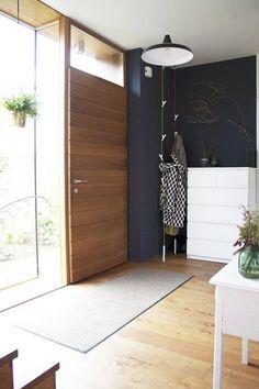 Entrance hallway – The Dark Side - DIY Traumhaus Facade Architecture, Residential Architecture, Studio Interior, Interior Design, The Dark Side, Decoration Entree, Cool Walls, Living Room Designs, Entrance