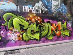 MELBOURNE GRAFFITI 2014/5 LAND OF SUNSHINE | LAND OF SUNSHINE