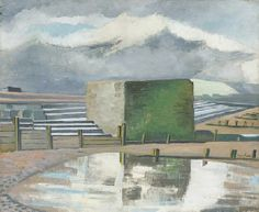 'The End of the Steps' by Paul Nash, 1922 Tate Britain, Time Painting, English Artists, Contemporary Abstract Art, Fine Art, John Nash, Cityscapes, 1930s, Searching