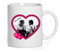 Heart Design Mug (Personalise it!