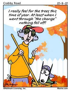FALL INTO FALL WITH MAXINE - this is so funny!!