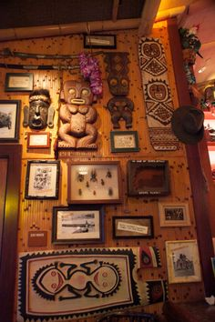 As nice as the exteriors are, INSIDE Trader Sam's is where the incredible eye candy resides.