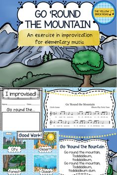 An improvisational exercise for elementary music. Elementary Music Lessons, Music Lesson Plans, Music Worksheets, Music Sing, Piano Teaching, Music Activities, Music For Kids, Music Therapy, Music Classroom