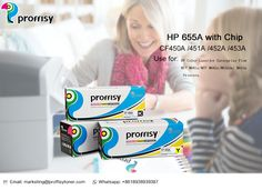 Do you confused about color toner cartridge? Proffisy New Premium Compatible for HP 655A (CF450A/CF451A/CF452A/CF453A) Color Laser Toner Cartridges are In Stock Now. BK:12,500 Pages C/Y/M: 10,500 Pages Used for Priters:HP Color LaserJet Enterprise Flow MFP M681z/M682z/ M652dn|/M652n/M653x/MFP M681dh/M681f/MFP M681z/M653dn/ M653x/M681dh/M681f/ M682z/M652dn/ M652n Join in Our Proffisy Brand Agent to the first to win the market. Website :www.proffisytoner.com Email: marketing@proffisytoner.com