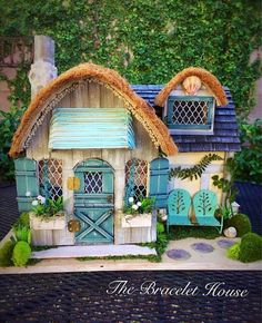 Enchanted Beach Cottage Custom Dollhouse Fairy dollhouse