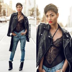 Leather, Lace & Denim| Micah Gianneli