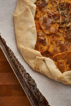 Sweet Potato & Herb Parmesan Galette   Dinner Pies