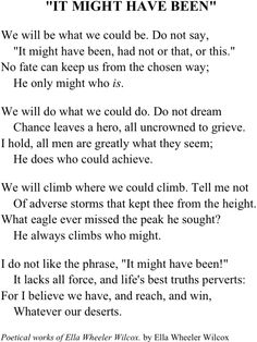 The Men We Might Have Been - Poem by Henry Lawson