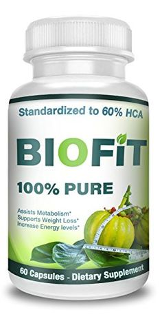 BioFit- Pure Garcinia Cambogia- Standardized to HCA - 60 Capsules- Assists Metabolism Acceleration- Increase Energy- Melt Fat Faster- Diet Supplement For Men and Women Lose weight naturally - Reaching your goal weight doesn't have to be so hard. Lose Weight Naturally, How To Lose Weight Fast, Loose Weight, Garcinia Cambogia Diet, White Kidney Bean Extract, Metabolism Support, Specific Carbohydrate Diet, Natural Cleanse, Diet Supplements