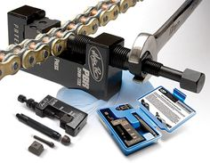 $86.99 PBR Chain Tool - Innovative design will Press, Break & Rivet 520, 525, & 530 chains with one convenient tool