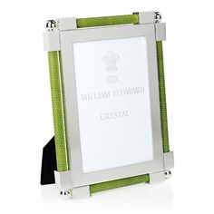 William Yeoward Crystal William Yeoward Classic Shagreen Photo Frame, x Home - Bloomingdale's Hand Washing, Fashion Photo, Silver Plate, Vibrant Colors, Lime, Crystals, Classic, Green, Tabletop