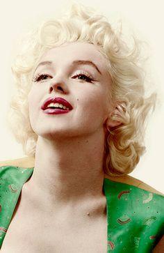 Marilyn Monroe photographed by Milton Greene at the Bauman Studio, 1956