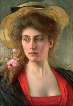 Albert Lynch       Peruvian      1851 - 1912      Elegante