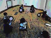 Spinning sound shapes #musiced