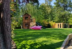 It's hard to believe this is artificial grass and not the real thing! Our grasses are high quality and for projects for all sizes.