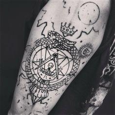 AtherOptera's custom tattoos