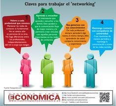 Claves para trabajar el networking #infografia