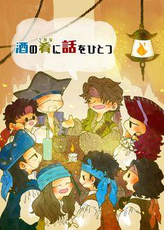 はねずや🏖 (@hanezuya) さんの漫画   168作目   ツイコミ(仮) Disney Villains, Pirates, Wonderland, Geek Stuff, Fandoms, Manga, Summer, Movie Posters, Movies