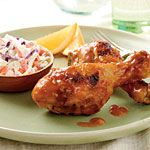 Orange Chipotle Chicken legs. I made this with leg quarters and it was DELISH!