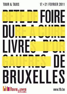 Foire du Livre de Bruxelles 2011