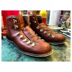 Workshop: Suede chukka boots from John Varvatos resoled with ...