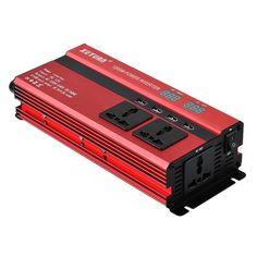 1200W DC 12V To AC 220V LED Power Inverter Power Converter 4 USB Ports Charger