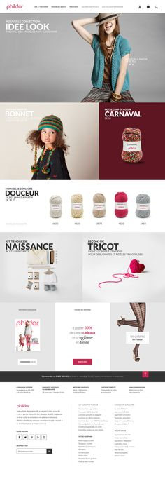 Web Design, Graphic Design, Web Inspiration, Ecommerce, Layout, Carnival, Tricot, Design Web, Page Layout