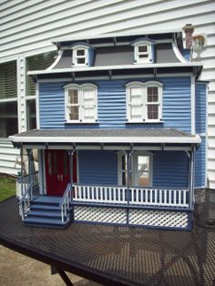 Custom Made Wooden Dollhouse The Lily Dollhouses And