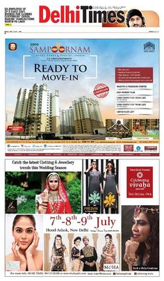 Celebrating Vivaha Featured in The Times of India for its Ongoing   WeddingExhibition. Catch the fb0c221e4d885