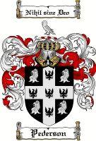 Pederson Coat of Arms / Pederson Family Crest