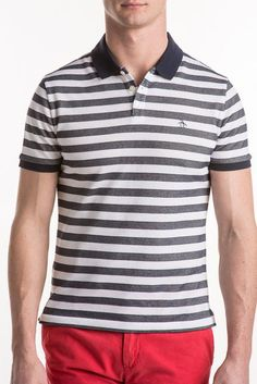 Original Penguin Striped Polo Shirt OPKS8051OP