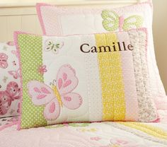 Camille Quilted Bedding | Pottery Barn Kids