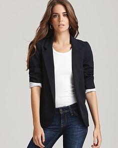 Aqua Blazer - Girlfriend - Coats & Blazers - Aqua - Designer Shops - Women's - Bloomingdale's