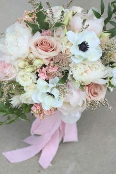 Blush Wedding Bouquet //Celebration Flair