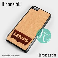 levis wood Phone case for iPhone 5C and other iPhone devices