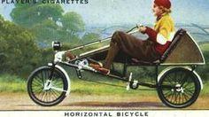 Horizontal bike