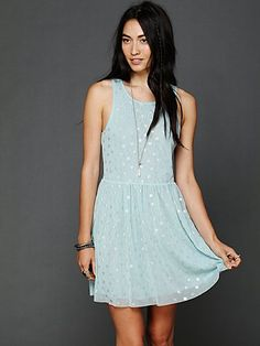 reversible dot dress
