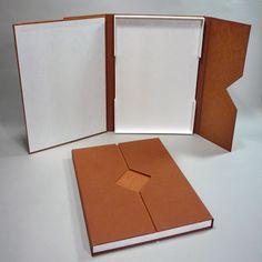 About the Binding: Single Tray Box