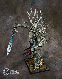 Treeman #warhammer #whfb #fantasy #battle #aos #ageofsigmar #sigmar #wood #elves #gamesworkshop #wellofeternity #miniatures #wargaming #hobby