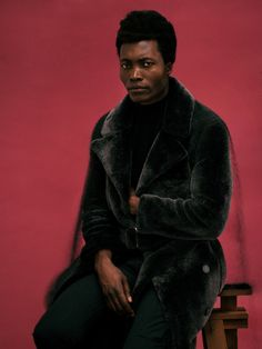 DAVID UZOCHUKWU Benjamin Clementine for Wonderland Magazine, Fall Issue, by me. Styled by Matthew Josephs and Toni Blaze, assisted by Thomas Chatt, grooming by Johnny Biles.