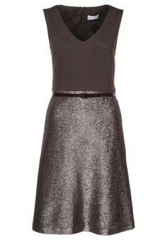 ELISA - Cocktailkleid / festliches Kleid - braun