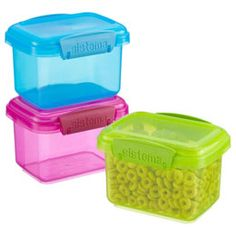 The Container Store > oz. Colorful Klip-It® Snack Pack Boxes The Co. The Container Store > oz. Colorful Klip-It® Snack Pack Boxes The Container Store > oz. Colorful Klip-It® Snack Pack Boxes Snack Box, Snack Pack, Lunch Box, Makeup Storage Kit, Storage Organization, The Weigh We Were, Lunch Items, Insulated Lunch Bags, Food To Go