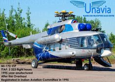 1995 Mil Mi-172 VIP for sale in Russia => http://www.airplanemart.com/aircraft-for-sale/Helicopter/1995-Mil-Mi-172-VIP/10562/
